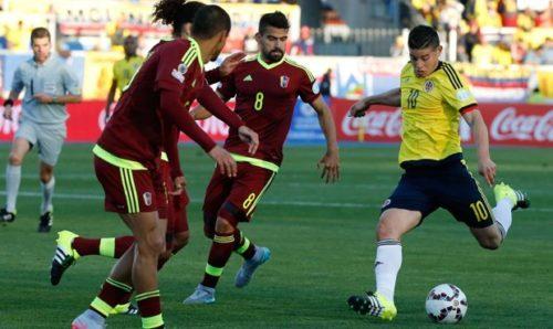 Prediksi Venezuela vs Kolombia 1 September 2017