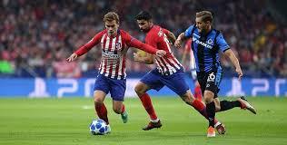 Prediksi Club Bruges vs Atletico Madrid 12 Desember 2018